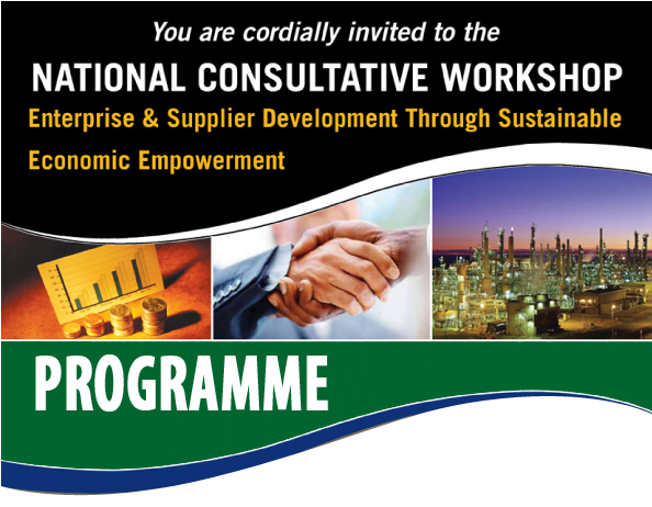 National Consultative iNVITE wORKSHOP pROGRAMME